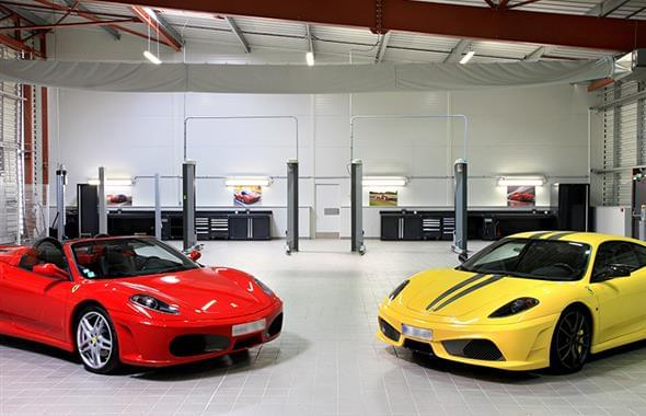 Ferrari Maserati France Workshops