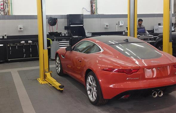 Jaguar Land Rover Workshop