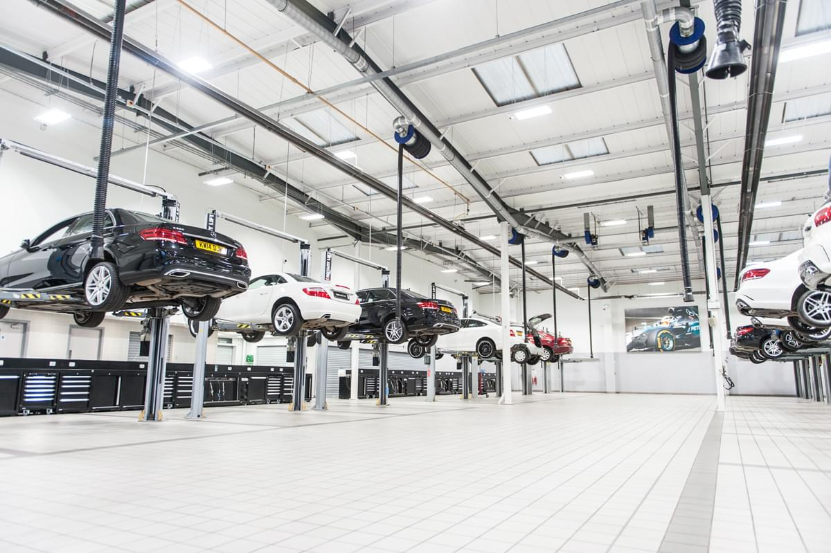 mercedes benz workshops choose dea