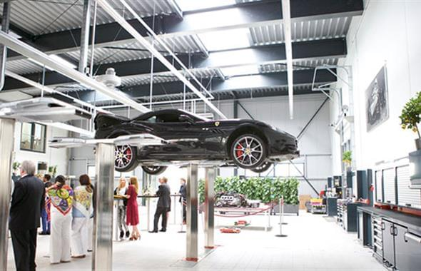 Officina Ferrari in Germania